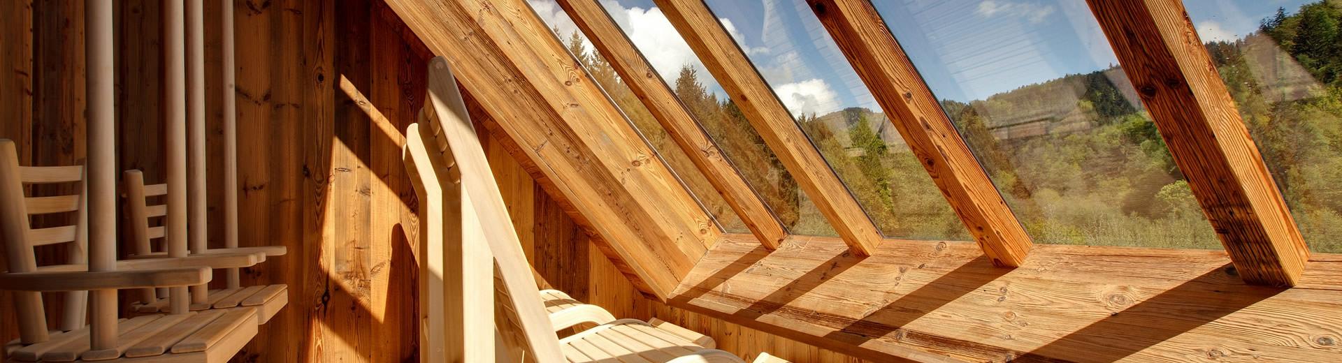Nature Spa le sauna