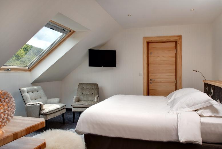 Les chambres de charme de l 39 hotel spa la cheneaudi re for Chambre de charme nijmegen