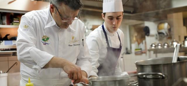 Le Chef Roger Bouhassoun