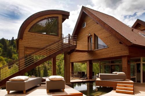 Un complexe Nature Spa de 2000m² intégrée en pleine nature alsacienne.