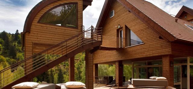 Un complexe Nature Spa de 2500m² intégrée en pleine nature alsacienne.