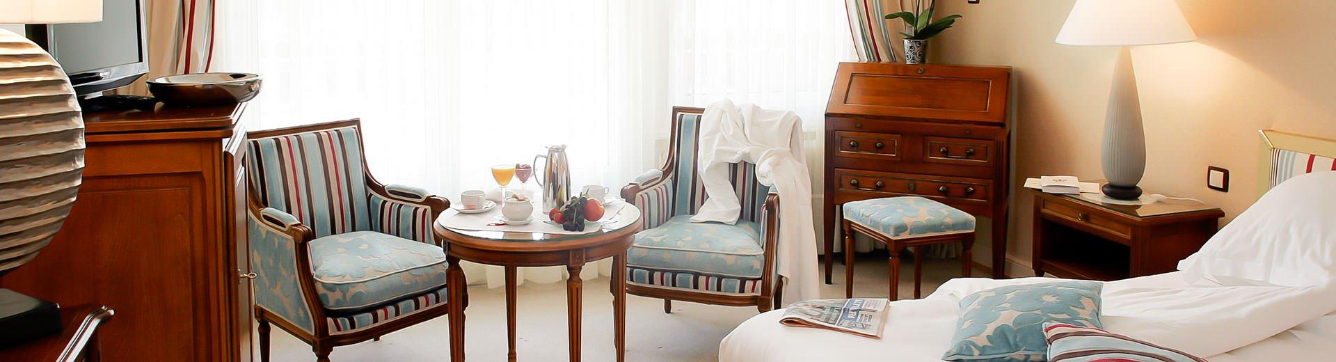 Chambre et suite de luxe en Alsace
