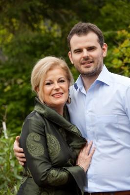Mireille François et Nicolas Decker, les propriétaires-dirigeants de La Cheneaudière & Spa