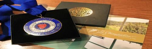 Une belle Médaille pour Jean-Paul Acker, second de cuisine à La Cheneaudière & Spa en Alsace
