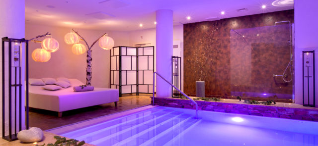 Le flotarium au spa de l'hôtel la Cheneaudière en Alsace